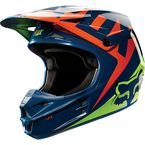 Navy/Yellow V1 Race Helmet - 10951-046-XL