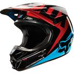 Blue/Red V1 Race Helmet - 10951-149-XL