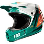 Green/Orange V1 Vandal Helmet - 11018-147-S