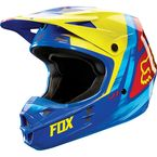 Yellow/Blue V1 Vandal Helmet - 11018-586-XL