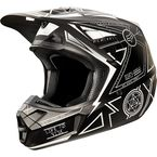 Black/White V2 Priori Helmet - 11322-018-L