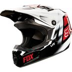 Youth Red V1 Vandal Helmet - 11948-003-M