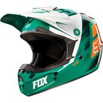 Youth Green/Orange V1 Vandal Helmet - 11948-147-M