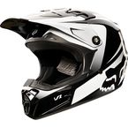 Youth Black/White V1 Imperial Helmet - 11966-018-L
