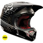 Black V4 Carbon Reveal Helmet - 12236-001-L