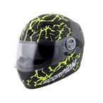 Black/Hi-Hiz Yellow EXO-500 Numbskull Phantom Helmet - 50-11535