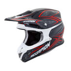 Black/Red VX-R70 Blur Helmet - 70-5013
