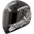 Matte Black/Gray SS1300 Live By The Sword Helmet - 87-6774