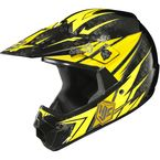 Youth Yellow/Black MC-3 CL-XY Pop 'N Lock Helmet - 0863-2003-56