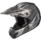 Youth Black/Gray/White MC-5 CL-XY Pop 'N Lock Helmet - 0863-2005-55