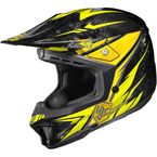 Yellow/Black MC-3 CL-X7 Pop 'N Lock Helmet - 0864-2003-06