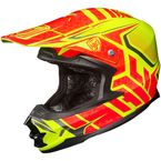 Hi-Viz Neon Orange/Yellow/Black MC-3H FG-X Grand Duke Helmet - 0867-1413-08
