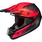 Red/Black MC-1F CS-MX Second Phase Helmet - 0870-2001-07