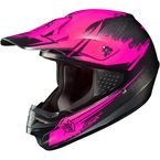 Hi-Viz Neon Pink/Black MC-8F CS-MX Second Phase Helmet - 0870-2008-03