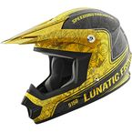 Yellow/Black Lunatic Fringe SS2400 Helmet - 87-8251