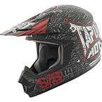 Black/Red Tapout Moto SS2400 Helmet - 87-8290