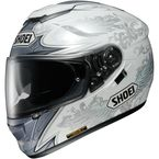 White/Gray GT-Air Grandeur TC-6 Helmet - 0118-1606-06