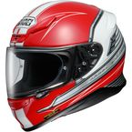 Red/White/Black RF-1200 Cruise TC-1 Helmet - 0109-1901-05
