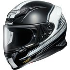 Black/White RF-1200 Cruise TC-5 Helmet - 0109-1905-06