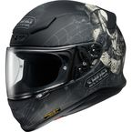 Black/White/Gray RF-1200 Brigand TC-5 Helmet - 0109-1805-06