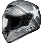 Gray/White Qwest Resolute TC-5 Helmet - 0115-1305-06