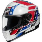 Red/White/Blue Qwest Banner TC-1 Helmet - 0115-1401-06