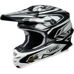 Black/White/Gray VFX-W Block Pass TC-5 Helmet - 0145-8705-07