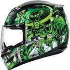 Black/Green Airmada Shadow Warrior Helmet - 0101-7762