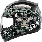Gray Airmada Vitriol Helmet - 0101-7776