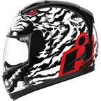 White/Black Alliance Berserker Helmet - 0101-7788