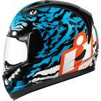 Blue/Black Alliance Berserker Helmet - 0101-7799