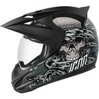 Gray Varient Vitriol Helmet - 0101-7810