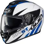 Blue/White/Black RPHA ST MC-2 Rugal Helmet - 0802-1102-08