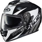 Black/White/Gray RPHA ST MC-5 Rugal Helmet - 0802-1105-08