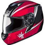 Red/Black/White CS-R2 MC-1 Seca Helmet - 0812-1901-06