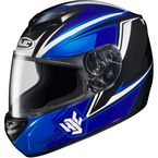 Blue/Black/White CS-R2 MC-2 Seca Helmet - 0812-1902-07