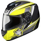 Yellow/Black/White CS-R2 MC-3 Seca Helmet - 0812-1903-06