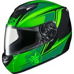 Neon Green/Black CS-R2 MC-4 Seca Helmet - 0812-1904-06