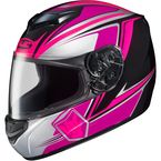 Neon Pink/White/Black CS-R2 MC-8 Seca Helmet - 0812-1908-05