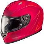 Red FG-17 MC-1F Thrust Helmet - 0817-1731-06