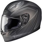 Black/Gray FG-17 MC-5F Thrust Helmet - 0817-1735-06
