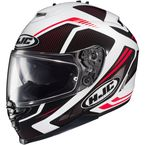 Red/Black/White IS-17 MC-1 Spark Helmet - 58-4914