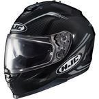 Black/Gray IS-17 MC-5N Spark Helmet - 0818-1205-08