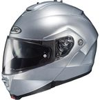 Metallic Silver IS-MAX II Modular Helmet - 0841-0107-08