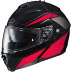 Red/Black/Gray IS-MAX II MC-1 Elemental Modular Helmet - 0841-2101-08