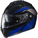 Blue/Black/Gray IS-MAX II MC-2 Elemental Modular Helmet - 0841-2102-08