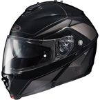 Black/Gray IS-MAX II MC-5 Elemental Modular Helmet - 0841-2105-08
