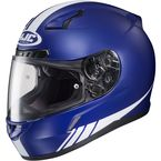 Blue/White CL-17 MC-2F Streamline Helmet - 838-826