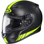 Black/Hi Viz Yellow CL-17 MC-3HF Streamline Helmet - 0851-1633-08