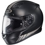 Black/Gray CL-17 MC-5GF Streamline Helmet - 0851-1645-06